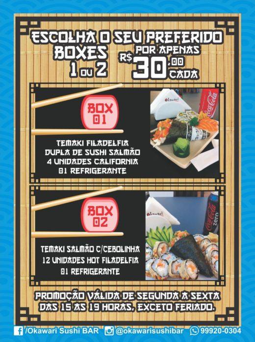BOXES Escolha seu Preferido